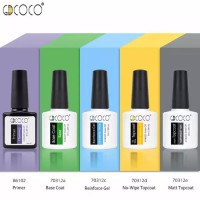 GDCOCO top/base/matt/dove top coat gel nailpolish uv led 8ml