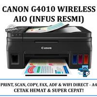 Printer Canon Pixma G4010 -Refillable Print,Scan,Copy,Fax,Wifi & ADF