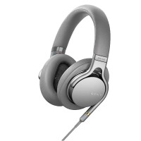 Sony MDR 1AM2 Hi-Res Headphone with Mic Silver