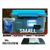 Dry box kamera drybox silvo with hygrometer dan silicagel small