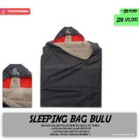 Sleeping Bag Polar Bulu Halus Ringan Hangat Lebih Tebal