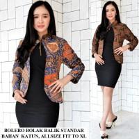 Harga bolero bolak balik batik busana kerja   Hargalu.com
