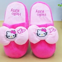 Sandal Bulu Dewasa Import HELLO KITTY LOVE ALL SIZE