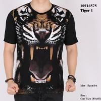 Harga baju kaos macan harimau tiger 3d animal binatang satwa   antitipu.com