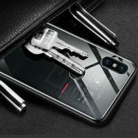 Xiaomi Redmi 6A Tempered Machine Glass Mesin Explorer Hard Case Cover