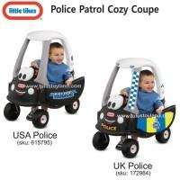 Jual Mobil mobilan Little Tikes Police Patrol Cozy Coupe USA Police Car Murah