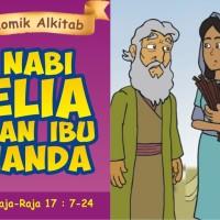 Komik Alkitab - Nabi Elia dan Ibu Janda