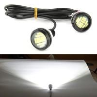 1 Pasang / 12V 15W Motor Lampu LED Eagle Eye untuk Mobil
