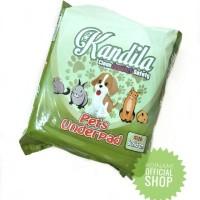 UNDERPAD kucing dan anjing TATAKAN KANDANG 60*45 training pet diaper