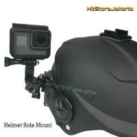 Mounting Helm Helmet Side Mount GoPro YI BPro Helmet Curved Mount