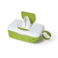 OXO tot On the Go Wipes Dispenser and Diaper Pouch Green