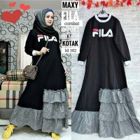 FILA Dress Gamis Kekinian