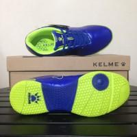 Harga sepatu futsal anak kelme star 9 junior royal lime 1115703 | antitipu.com