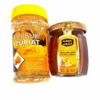 Harga bubuk buah zuriat 100gr madu alshifa 125   Hargalu.com