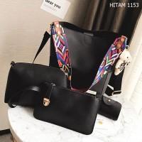 [Batam Fashion Center] WEEDO - WD1153 - TAS 4IN1 - TAS BATAM - TAS WAN