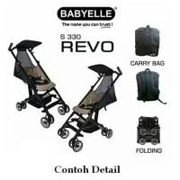 Harga stroller babyelle revo stroller cabin size perlengkapan | Pembandingharga.com
