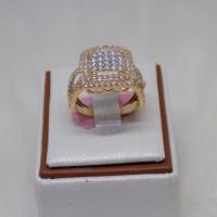 cincin emas kuning cartier mas 375% original