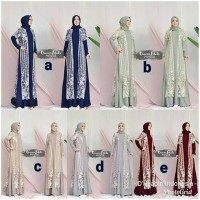 Gamis by Queena Label Mouva