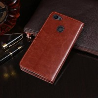 Casing Hp Flip Leather Case Oppo F7 F5 F3 F1s A3S A71 A39 A57 A83 A37