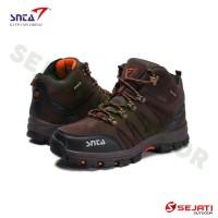 Sepatu Gunung  Sepatu Outdoor  Sepatu Treking SNTA 479 Brown Orange 21d19c86e0