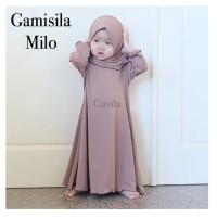 Gamis Casila (GAMISILA) Polos Size 3-4y Original