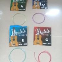 Senar Ukulele Warna Set A E C G String