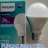Lampu Philips LED Essential 3w 3 watt