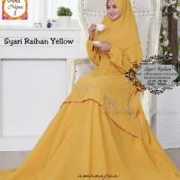AJ- RAIHAN SYAR'I / GAMIS SYAR'I CANTIK / DRESS MUSLIM