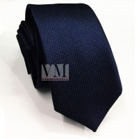 VM Dasi Fashion Slim Biru navy - SLim Tie Navy Blue