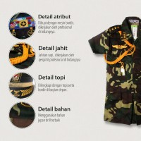Harga Baju Loreng Anak Perempuan Travelbon.com