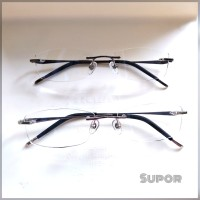Frame kacamata Frameless FL7 + Lensa Essilor Airwear Drive Bening 990fa17526