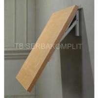 Harga rak siku lipat 12in folding shelf bracket tembok lipat meja li | antitipu.com