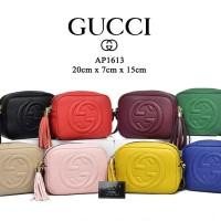 Tas Gucci Disco Soho Leather Semi Premium AP1613 7a4ea3a3f4