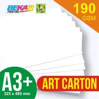 Kertas Art Carton 190 GSM ukuran A3+ 32,5 x 48,5 cm
