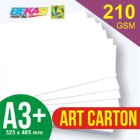 Kertas Art Carton 210 GSM ukuran A3+ 32,5 x 48,5 cm