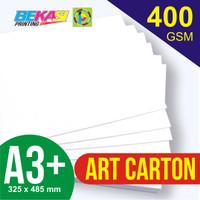 Kertas Art Carton 400 gram A3+ (32.5 x 48.5 cm)