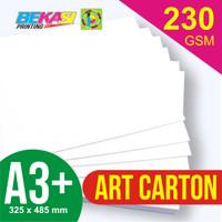 Kertas Art Carton 230 gram A3+ (32.5 x 48.5 cm)