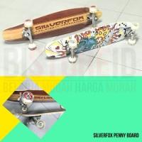 Promo Penny Board Medium Board Maple Silverfox Original Murah