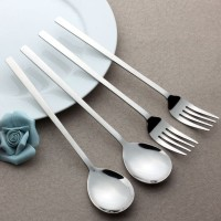 Sendok Garpu Korea / Alat Makan Sujeo Korean Spoon Fork Set Stainless