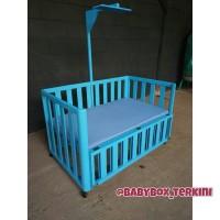 baby box minimalis blue custom furniture jepara