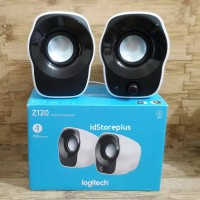 Speaker Laptop Komputer Logitech Z120 Mini Stereo Original
