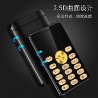 Harga mini card phone handphone hp kecil seukuran kartu atm kredit | antitipu.com