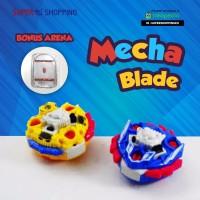 Gasing Mecha Blade Ori Paket 2 Gasing + Arena