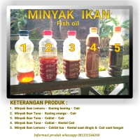 minyak ikan - fish oil - lemuru - tuna - untuk bahan baku pakan ternak