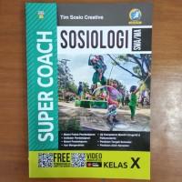 Buku Super Coach Sosiologi SMA Kelas X Kurikulum 2013 Revisi
