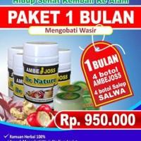 Obat Wasir | Ambeyen | Ambeien Herbal Ambejoss Salwa Paket 1 Bulan