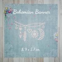 BOHEMIAN BANNER - Bahan Scrapbook Die Cut Dies Out