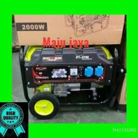 Genset Stater POWER ONE 2000 watt 3700 bensin nlg ryu l Paling Laris