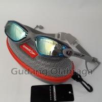 Kacamata Renang Anti Fog & UV SPEEDO 866 Grey