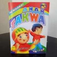 Buku Mewarnai Anak Takwa - belajar mewarnai